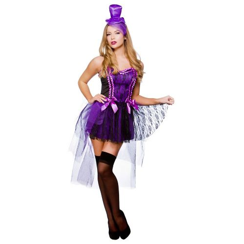 Ladies Burlesque Beauty Costume for Cowboys Indians Fancy Dress Womens